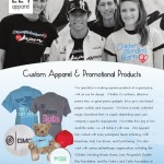 224 Apparel & Design.  For all your promotional needs