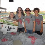 T-Shirts for Larry Fitzgerald's First Annual Celebrity Softball Tournament