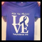 Walk for Whitney, Supporting Pancreatic Cancer