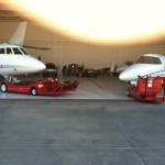An inside look at the BMSS Jet hangar.