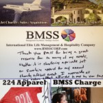 """Thank you BMSS for being a great resource for so many of my needs, whether it is chartering a private jet or supplying apparel for my annual charity softball event!"" -Larry Fitzgerald"